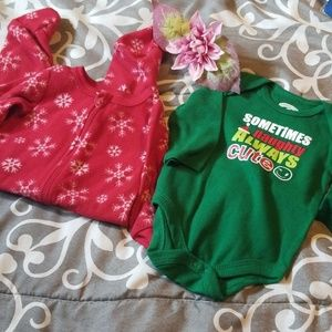 Baby boy 6/9 month holiday time bundle